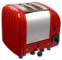 Dualit 2 Slice Toaster 20246 in Red