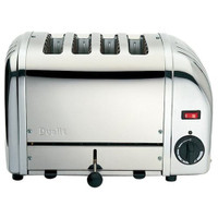 Dualit 4 Slice Stainless Steel Toaster 40352