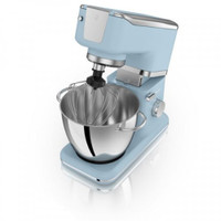 Swan Vintage Stand Mixer 1000W in Blue