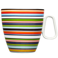 Iittala Origo Mug 0.4 L - Orange Stripes