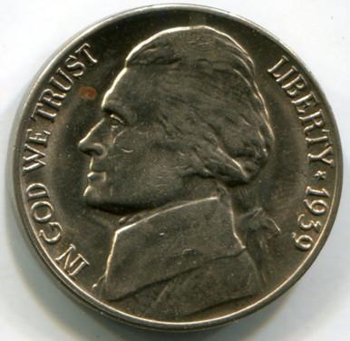 1939 D  Jefferson Nickel, MS63