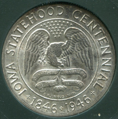 1946 Half Dollar Iowa Statehood Centennial