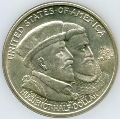 1924 Half Dollar Hugueno Walloon Tercentenary