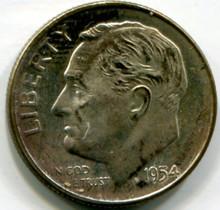 1954 Roosevelt Dime UNC