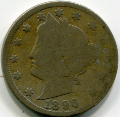 1896 Liberty Nickel  G