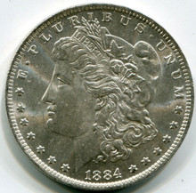 1884-O Morgan Dollar MS63