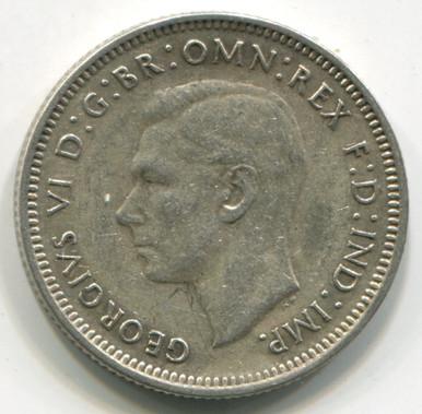 1941 Australia Shilling KM39 AU