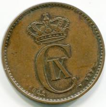 1902/802 Denmark  2 Ore  Km793.2  AU