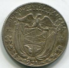 1931 Panama 1/10 Balboa KM10.1 XF