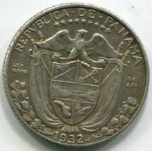 1932 Panama 1/10 Balboa KM10.1 XF