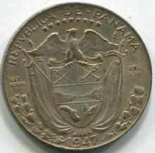 1947 Panama 1/10 Balboa KM10.1 XF