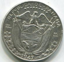 1947 Panama 1/10 Balboa KM10.1 AU