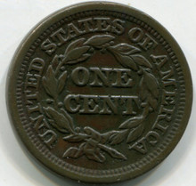 1847 Large Cent  XF small 7