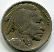 1918  Buffalo Nickel VF20