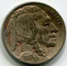 1918 D Buffalo Nickel VF
