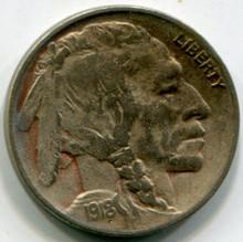 1918 D Buffalo Nickel VF