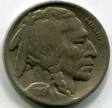 1919 Buffalo Nickel VF