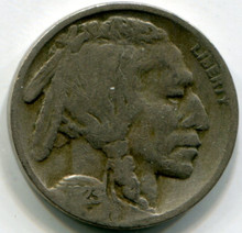 1923 S Buffalo Nickel AG