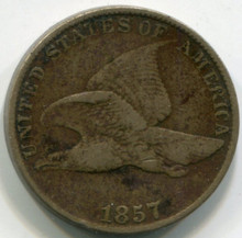 1857 Flying Eagle VF