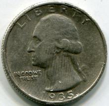 1935 S Washington Quarters XF