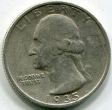 1935 D Washington Quarters  F