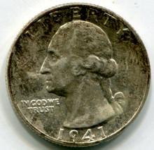 1941  Washington Quarters  MS65