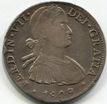 1809 HJ Mexico 8 Reales  KM#110 AU