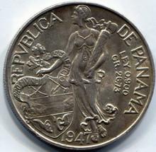 1947 Panama 1 Balboa MS60