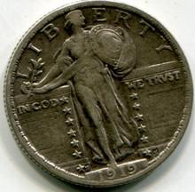 1919 S Standing Liberty Quarter  XF