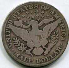1913 Barber Half Dollar  VG10