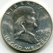 1955 Franklin  Half Dollar MS63