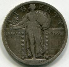 1920 Standing Liberty Quarter  VF