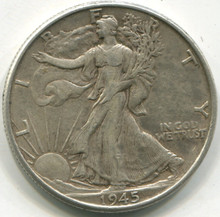 1945 Waking Liberty Half Dollar AU