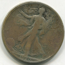 1920 Waking Liberty Half Dollar VG