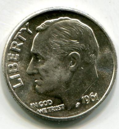 1961 D Roosvelt Dime UNC