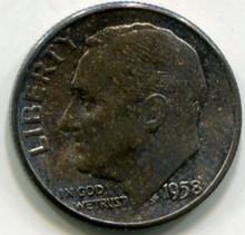 1958  Roosvelt Dime  UNC