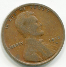 1915 D Lincoln Cent G