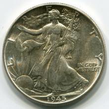 1945 Walking Liberty Half Dollar, MS63