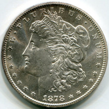 1878 CC Morgan Dollar MS63