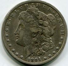 1891 CC   Morgan Dollar  VF30