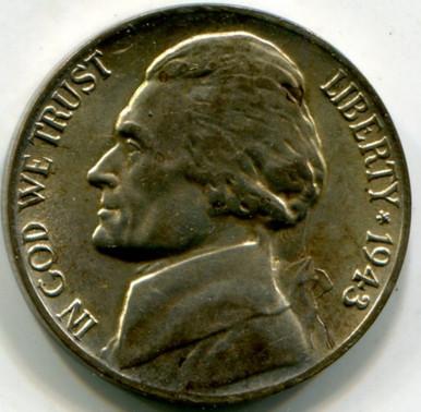 1943 P Jefferson Nickel UNC