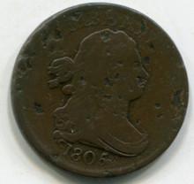1805/5  Half Cent  AG