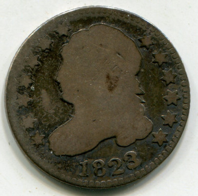 1823/2 Capped Bust Dime AG