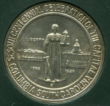 1936 D Columbia, South Carolina , Sesquicentennial