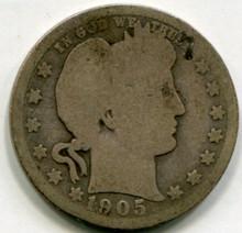 1905 Barber Quarter G