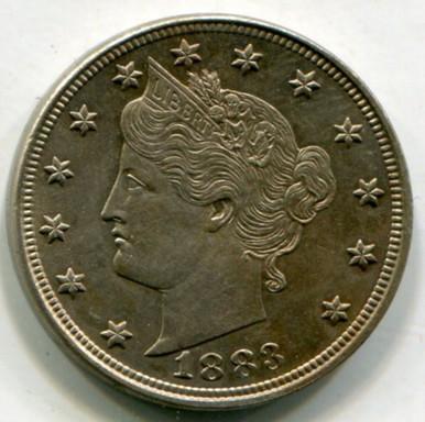 1883 Liberty Nickel MS63