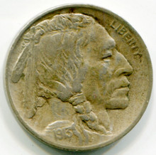 1913  Type I Buffalo Nickel XF45