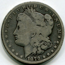 1879 CC Morgan Dollar  VG