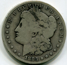 1883 CC Morgan Dollar  VG