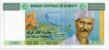 Djibouti 10.000 Francs P#45 UNC